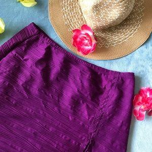 NWT Gottex Purple Swim Bottom Cover